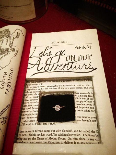 Der beste Heiratsantrag, den ich je gesehen habe. Ich