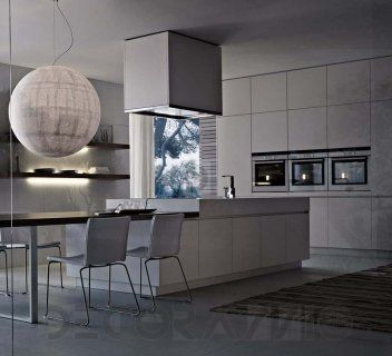 Flowing Open Interiors From Euromobil | Kitchen Living, Kitchens And Modern