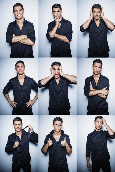 Cristiano Ronaldo Launches His New CR7 Shirts Collection