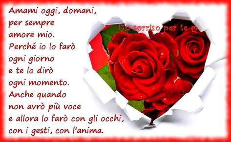 Anniversario Di Matrimonio Frasi D Amore.Immagini Con Frasi D Amore Gratis Immaginibuongiorno Eu Con