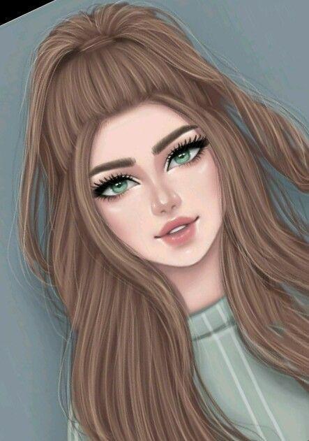 Pin By Jlc Family On Les Belles Photos De Profil Digital Art Girl Art Girl Cute Girl Drawing
