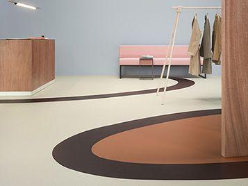 Marmoleum Cocoa Flooring Linoleum