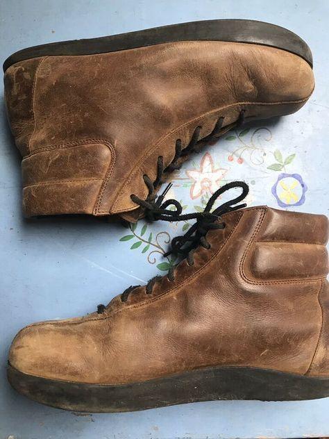 Roots Vintage 80er 90er Oko Boots Stiefel Leder 40 Kult In
