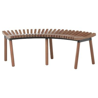 Groovy Ikea Stackholmen Light Brown Stained Stool Outdoor In 2019 Creativecarmelina Interior Chair Design Creativecarmelinacom