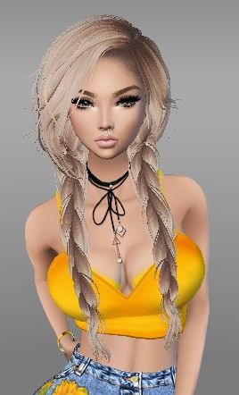 Summer Imvu Girl Blonde In 2019 Imvu Summer