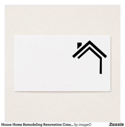 Home Remodeling Logo Ideas 29 Super Ideas House Logo Design Construction Business Cards Home Logo