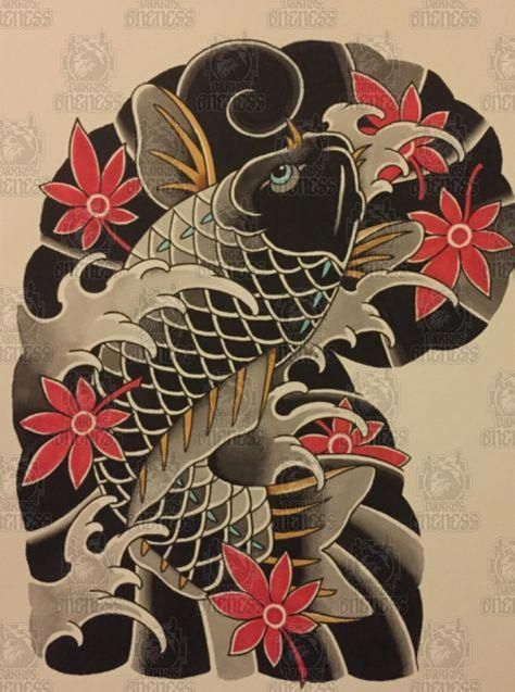 Japanesekoifishtattoo Japanese Tattoo Japanese Tattoo Art Japanese Tattoo Designs