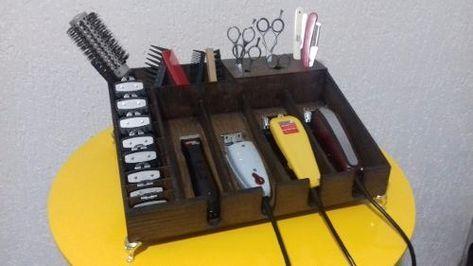 Suporte Organizador Pentes Guias Maquinas Wahl Andis Cores R 29 95 Em Mercado Livre Ideias Para Barbearias Barbeiro Projeto De Barbearia
