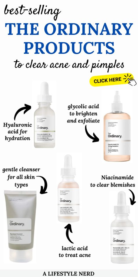 The Ordinary's Best Skincare Products to Get Rid of Acne and Pimples
