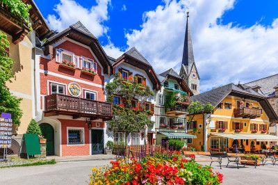 hallstatt austria puzzle in puzzle of