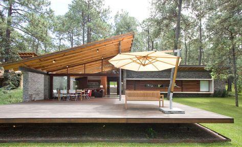 Casa De Campo Con Terraza Hogar Deco Fachadas De Casas