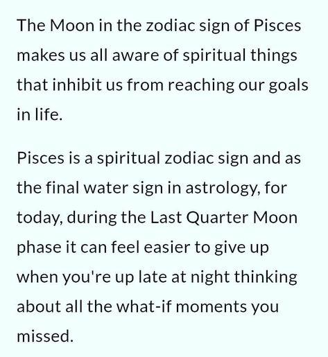 #MoonInPisces #LastQuarterMoon #WhatIf...?