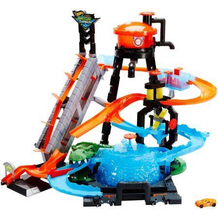 Hot Wheels Ultimate Gator Car Wash Play Set With Color Shifters Car Walmart Com Car Wash Hot Wheels Ultimate Garage Hot Wheels