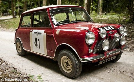 JAMES MARTIN: The Mini Cooper S is a classic British car with a racing pedigree too. How could a boy-racer resist?