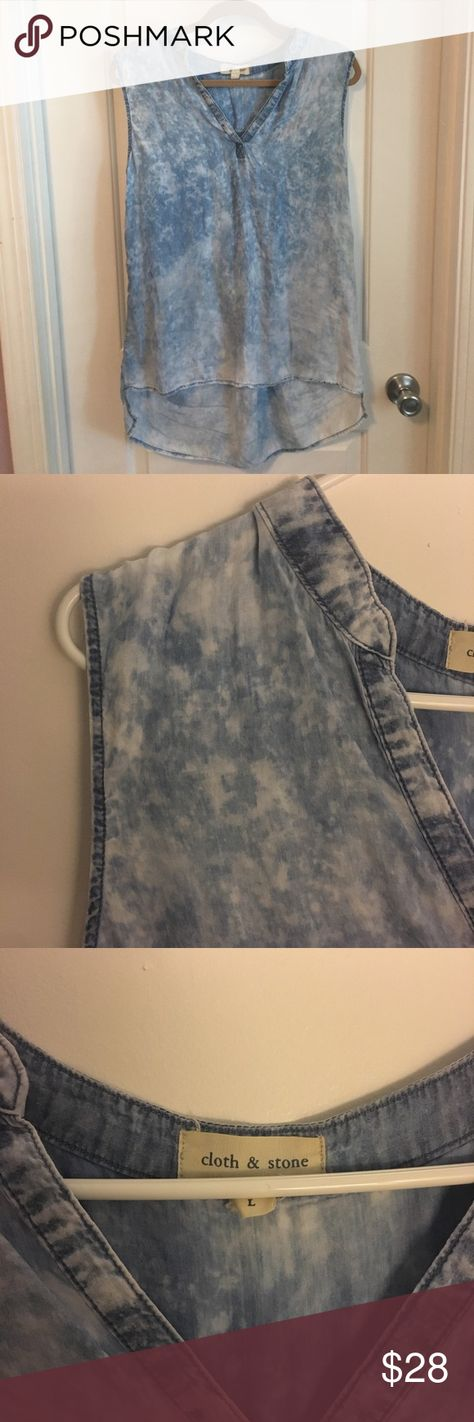 0c0d3e08d663 Anthropologie Cloth & Stone top So soft and comfortable! Lightweight, flowy  material. Longer in the back. Great piece! Excellent condition.