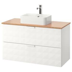 Godmorgon Waschbeckenschrank 2 Schubl Nussbaumnachbildung Nussbaum Ikea Badezimmerwaschtisch Ikea Godmorgon Waschbeckenschrank