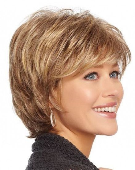 Hairstyles Women Over 50 Thick Hair Bangs 52 Ideas Thick Hair Styles Hair Styles For Women Over 50 Short Hairstyles For Women