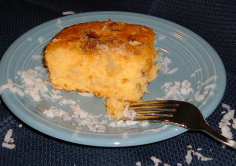 Recipe using cake mix and fruit cocktail