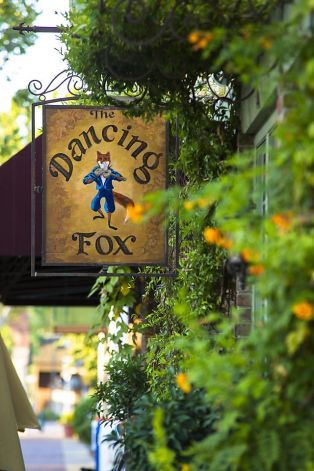 The Dancing Fox, owned by Gregg and Colleen Lewis, sits on a street in historic downtown Lodi. Photo: Dan Evans