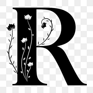 Alphabet Letter R With Ornaments Floral Vintage Letter R Alphabet Letter Png And Vector With Transparent Background For Free Download Lettering Alphabet Alphabet Illustration Alphabet Letters Clipart