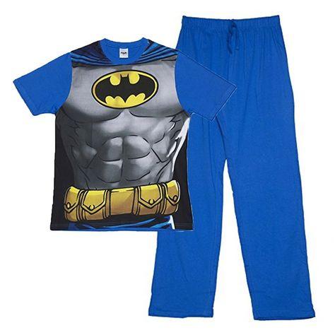 DC Comics Mens Batman Pyjamas