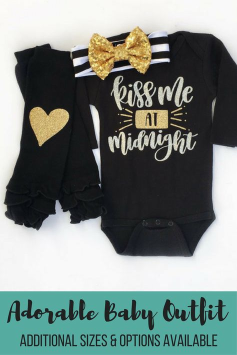 103dbc56ee12 Kiss Me At Midnight girl s new years outfit