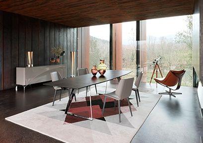 Roche Bobois Echoes Dining Table Design By Mauro Lipparini