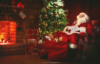 صور بابا نويل 2021 احلى صور بابا نويل بمناسبة الكريسماس Merry Christmas Santa Christmas Tree With Gifts Merry