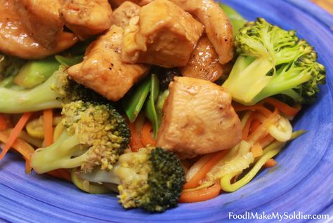 Chicken Zoodle Stir Fry