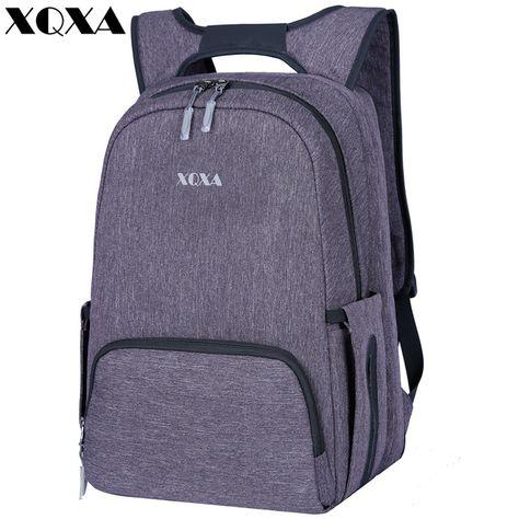 c69f7aa1a7e9 XQXA Laptop Backpack 15