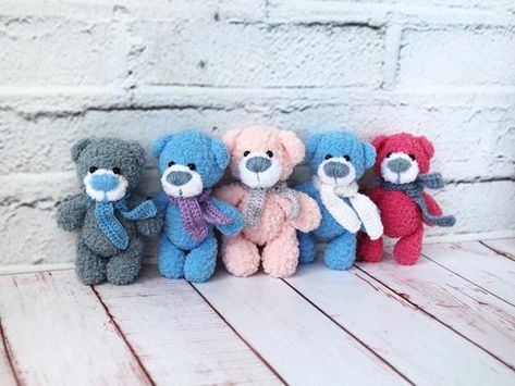 Crochet Your Own Mini Bear Introduction - YouTube | 355x473
