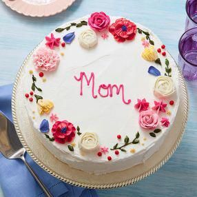 Circle Of Love Mother S Day Cake Cakefrosting With Images