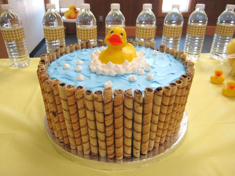 Duck in a Tub Cake