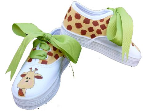 Painted canvas shoes....so cute!!