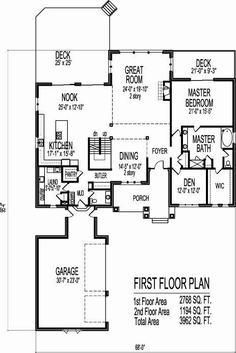 2 Floor House Plans Fresh Modern Open Floor House Plans Two Story 4 Bedroom 2 Story Two Story House Plans Open Floor House Plans Basement House Plans