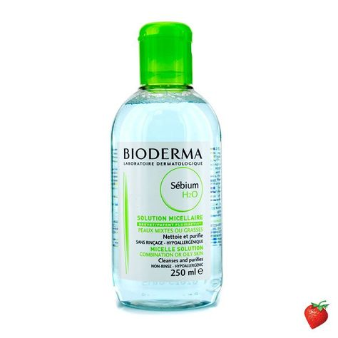 Bioderma Sebium H2o Purifying Cleansing Solution For Combination