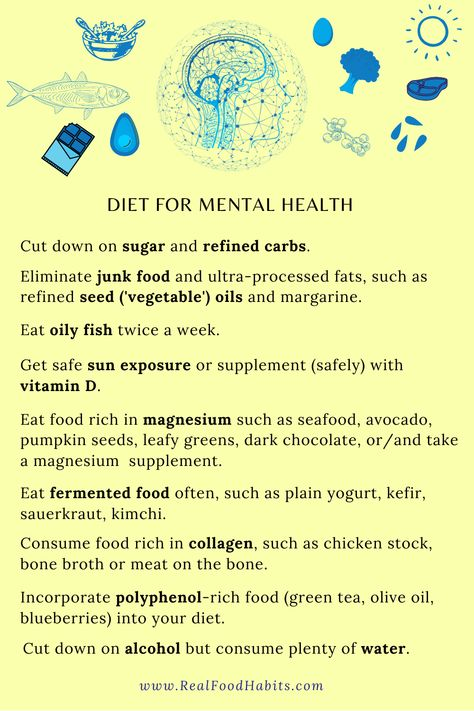 Diet For Mental Health
