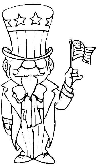 Get patriotic with this Fourth of July coloring page! Fourth of - new 4th of july coloring pages preschool