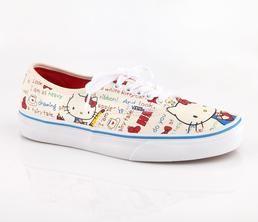 bba9c7ea945d00 Vans x Hello Kitty Women s Authentic  Retro