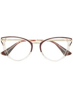 9ef2908c6483 cat eye-frame glasses   receta 2019-recomendaciones farfetch in 2019 ...