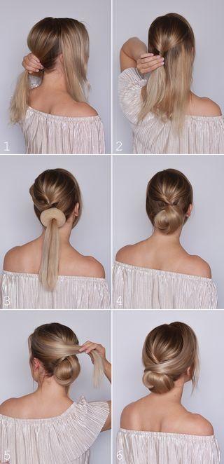 10 Easy Yet Stylish Hairstyles For Lazy Girls Bafbouf Hochsteckfrisuren Mittellanges Haar Geflochtene Frisuren Frisur Hochgesteckt