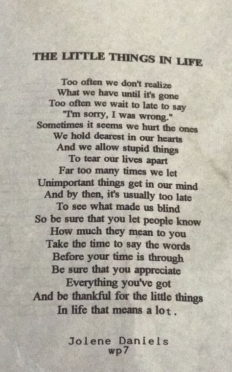 I wrote this in school.
