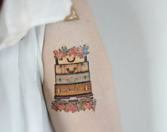 luggage tattoo - Norton Safe Search | inky | Pinterest | Safe ...