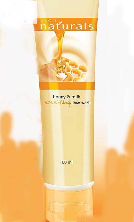 4 Avon Naturals Milk And Honey Nourishing Face Wash Face Wash Dry Skin Face Wash Best Face Wash