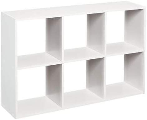Amazon Com Closetmaid 1578 Cubeicals Mini 6 Cube Organizer White