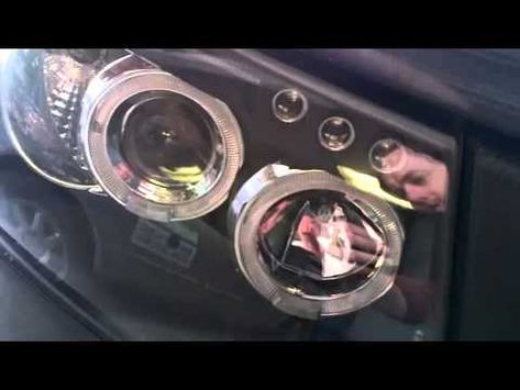 3 How To Install Halo Headlights On Jeep Grand Cherokee Youtube
