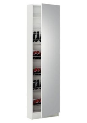 Meuble A Chaussures Miroir Zapa Blanc Meuble A Chaussure Miroir Meuble Chaussure Meuble A Chaussure Blanc