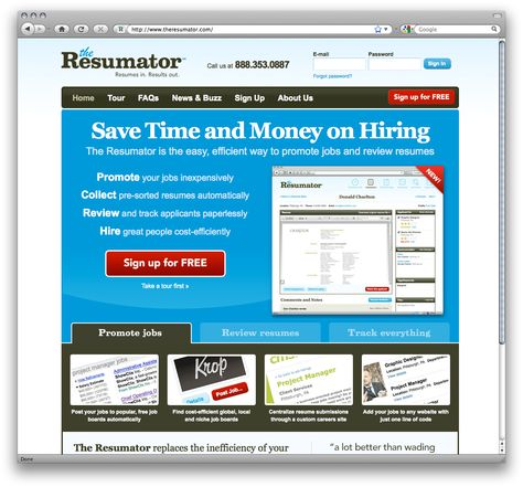Try The Resumator Free For 14 Days Well Designed Pinterest   The Resumator  The Resumator
