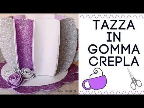 ultime versioni moda di lusso nuovo stile DIY TAZZA PORTACIALDE IN GOMMA CREPLA SEMPLICISSIMA ...