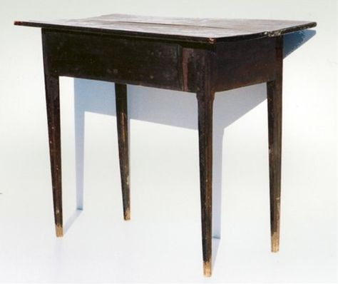 Shenandoah Valley Country Hepplewhite Table With Old Paint | Shenandoah  Valley Antiques | Pinterest | Shenandoah Valley, Tables And Bench